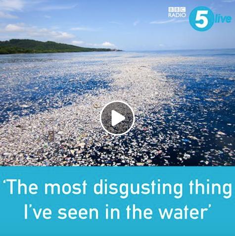 Sea of plastic