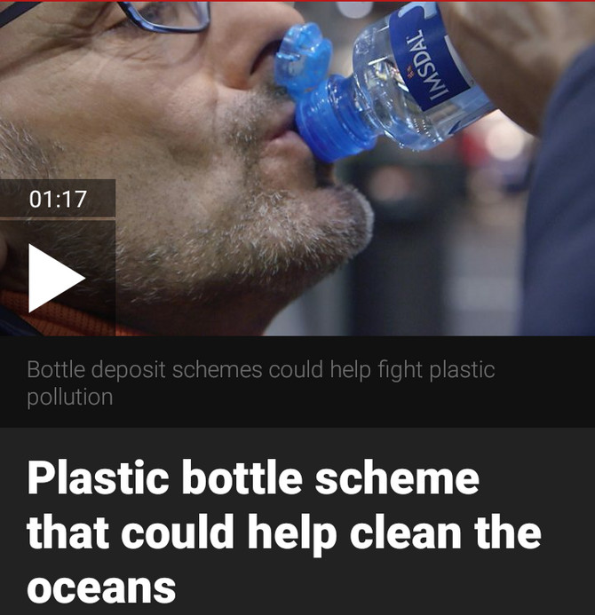 Norway is recycling plastic that's reducing the production of new plastic in a win win situatio