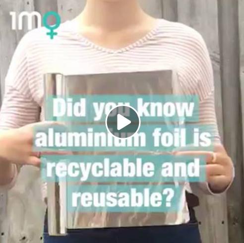 Don't Throw Away Your Aluminium Foil!