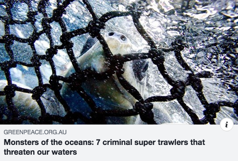 Monsters of the oceans: 7 criminal super trawlers that threaten our waters