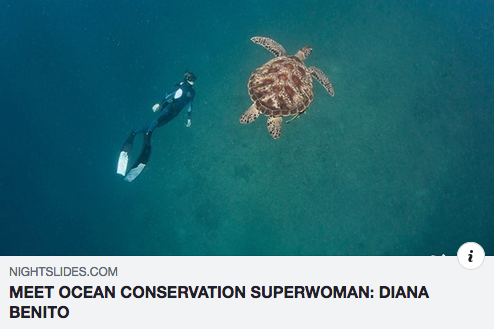 MEET OCEAN CONSERVATION SUPERWOMAN: DIANA GARCIA BENITO