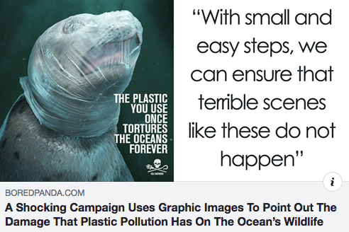 A Shocking Campaign Uses Graphic Images To Point Out The Damage That Plastic Pollution Has On The Oc