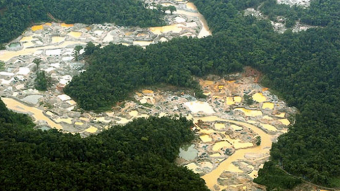 Mercury is ruining all life in the Amazon!!!!