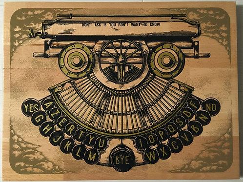 The Ouija Typewriter