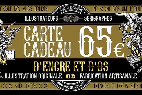 Carte Cadeau 65