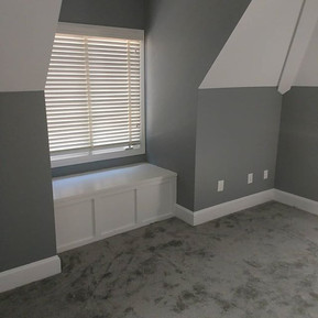 Master suite attic build out