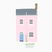 Pink House in Hampstead