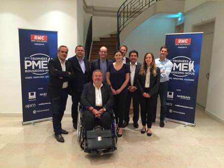 Dans les coulisses des Trophées PME Bougeons-nous !  RMC