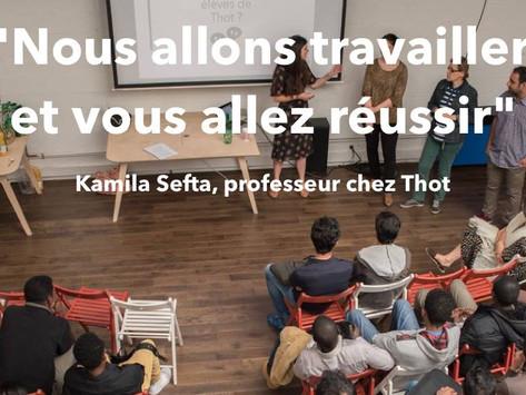 Thot, une école diplômante pour les réfugiés