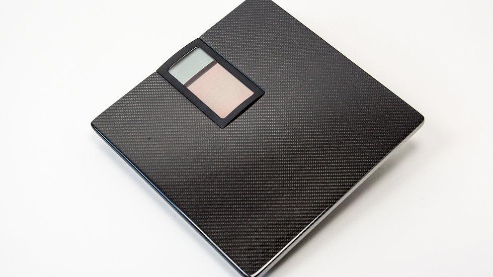 Körperwaage Badezimmerwaage Carbon Solar / Carbon Fibre Solar Personal Scale