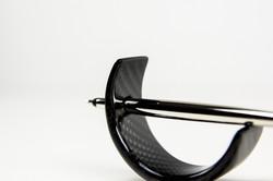 Schwebender Kugelschreiber Carbon