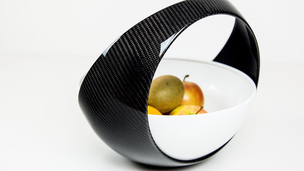 Obstkorb Obstschale Carbon Fruit bowl
