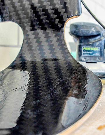 Carbon Bürostuhl Sessel Möbelveredelung Karbon