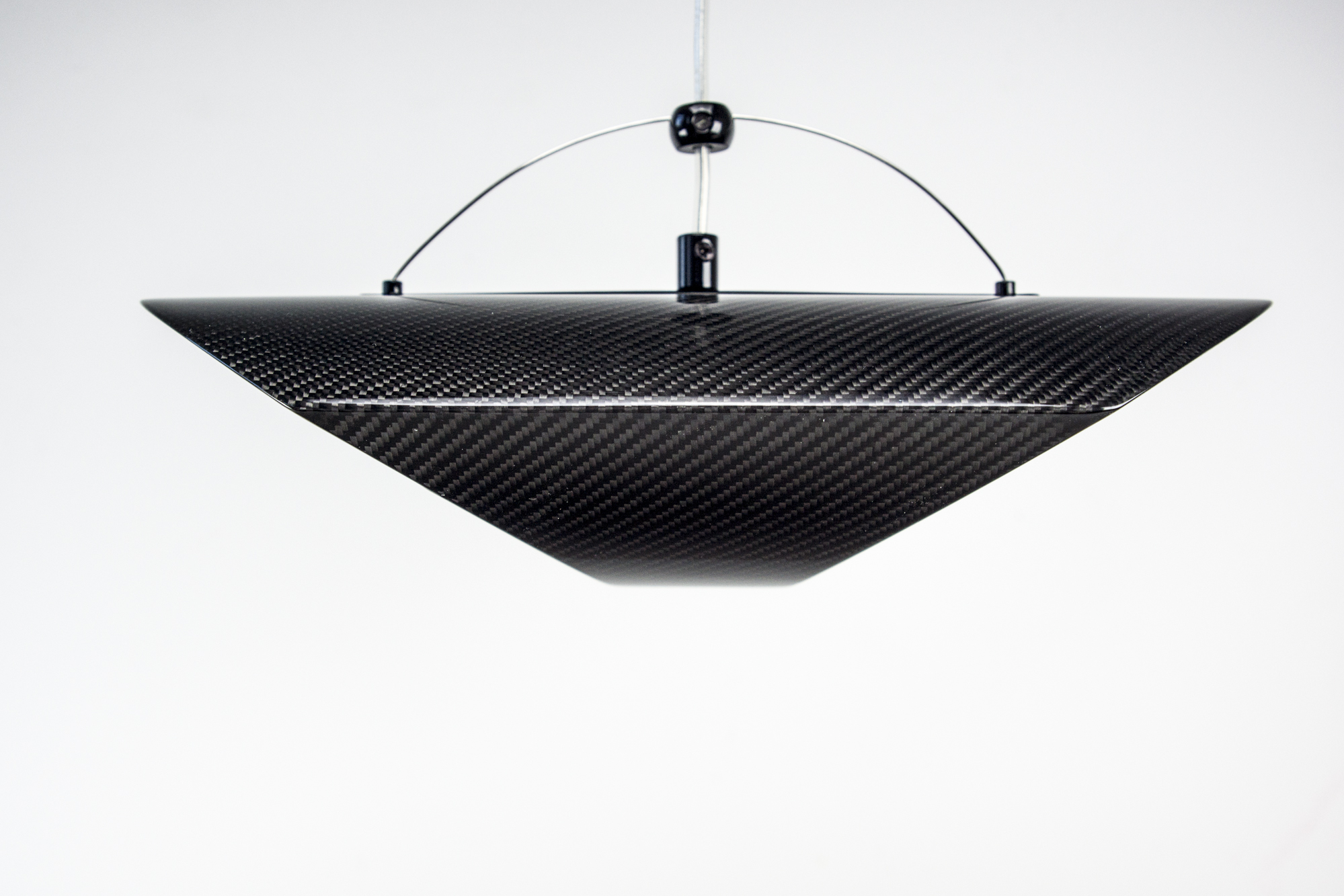 Designer Pendelleuchte Carbon