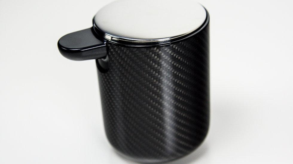 Seifenspender Carbon - rund / Soap Dispenser - Round Design