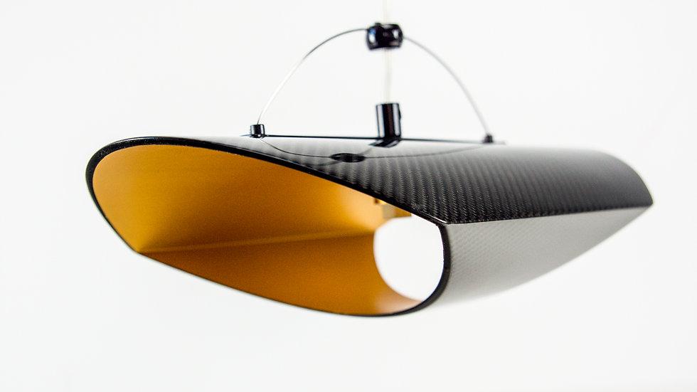 Hänge- Decken- Pendelleuchte Carbon / Hanging Lamp