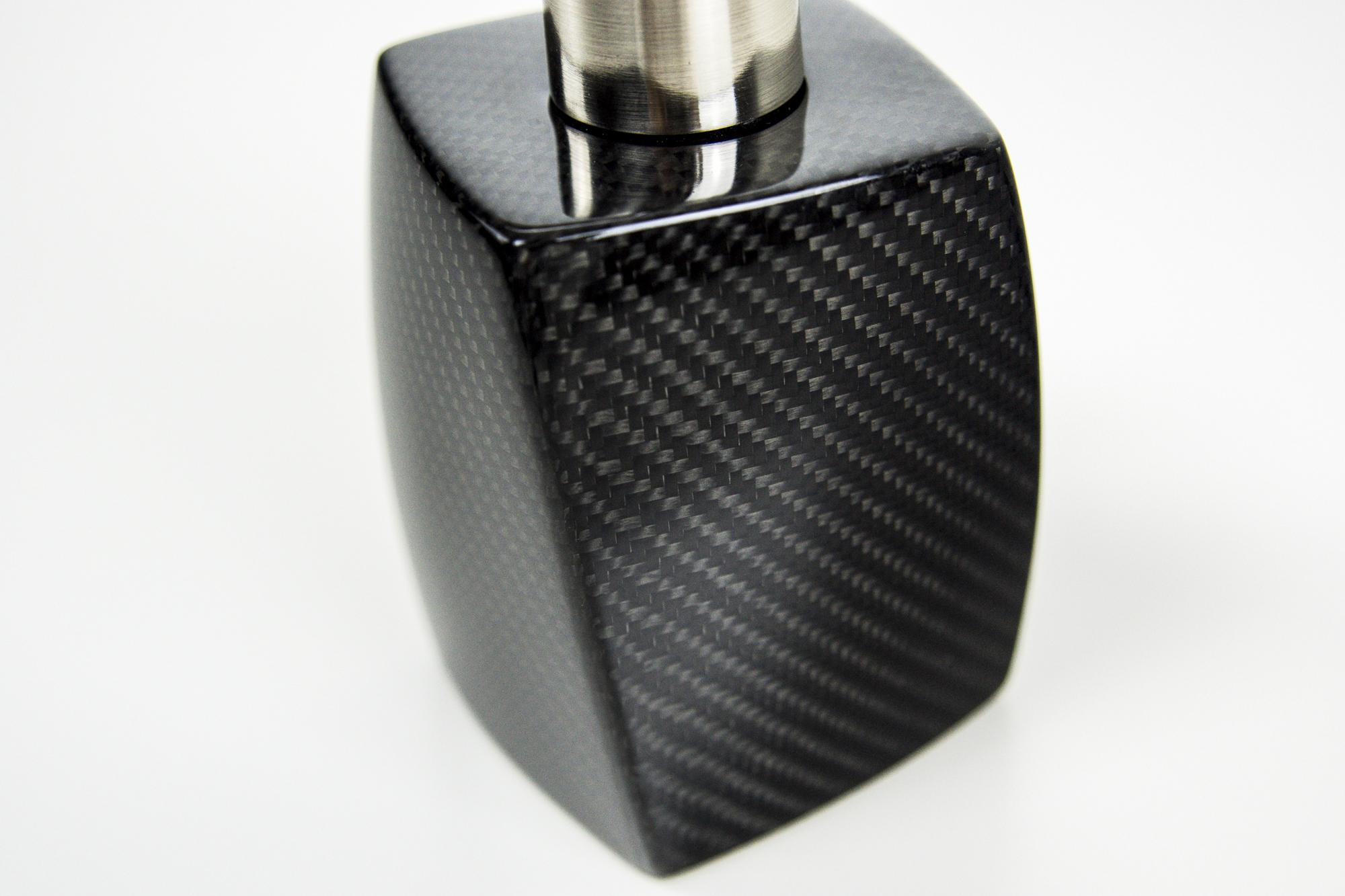 Design Seifenspender Carbon