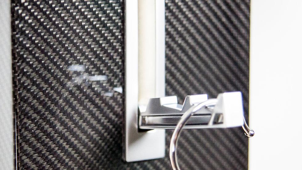 Garderobenpaneel Garderobenwand Carbon Fibre Coat Rack