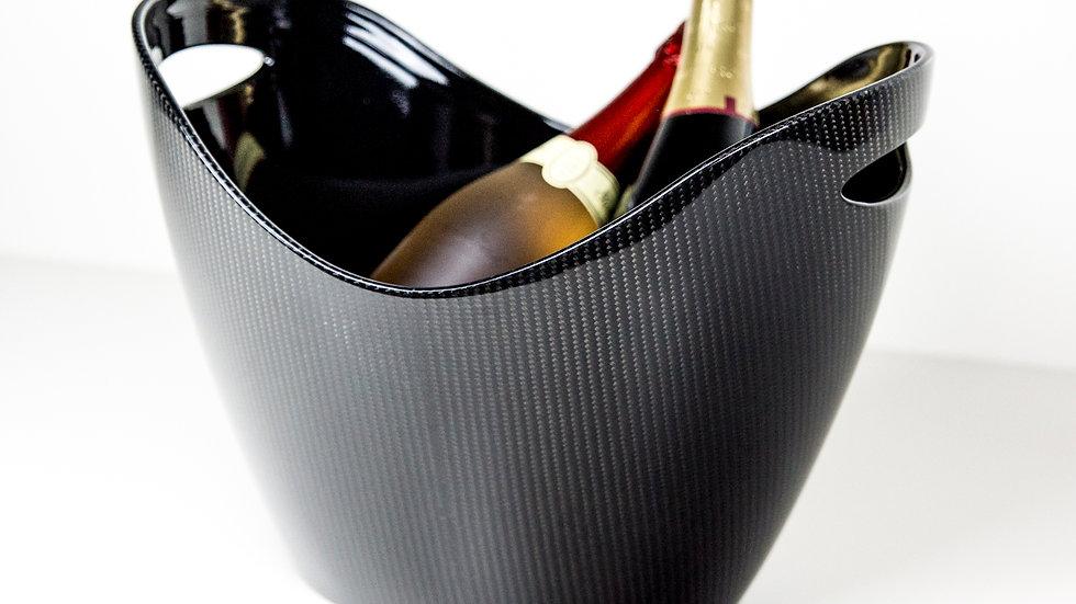 Sekt- und Getränkekühler Carbon Fibre Sparkling Wine and Beverage Cooler