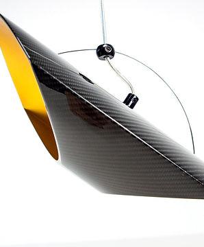 Carbon Pendelleuchte Hängelampe Designer Möbel