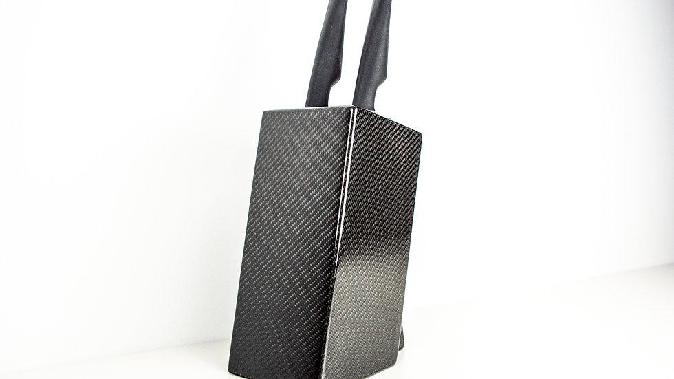 Carbon Messerblock Messerständer / Carbon Fibre Knife Block Knife Stand