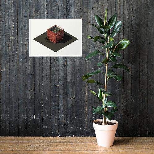 Framed Cafe³ poster