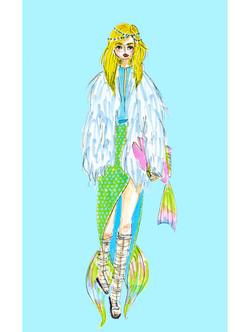 mermaid fashion show