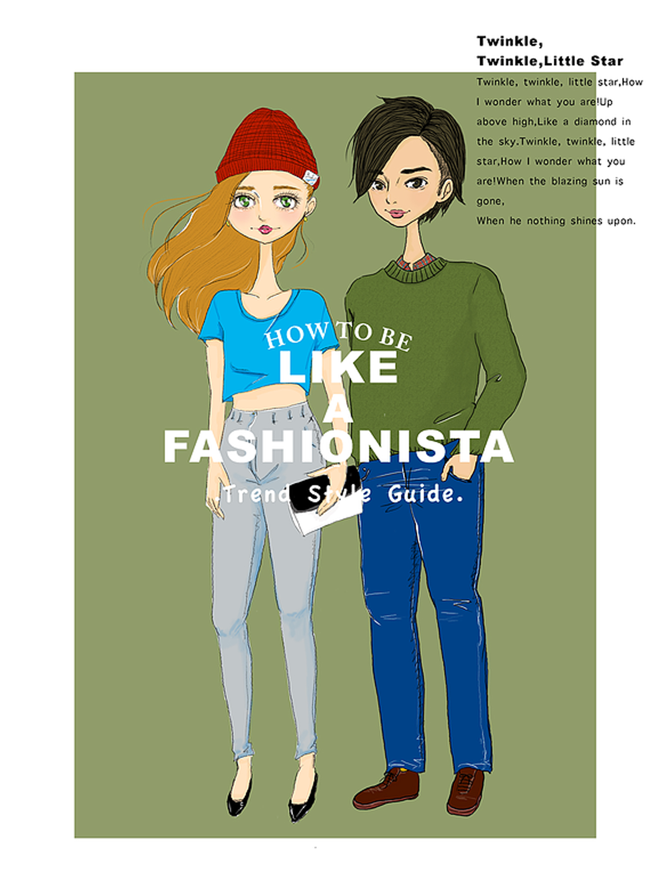 HOW TO BE LIKE A FASHIONISTA