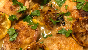 Chicken with Lemony Rice