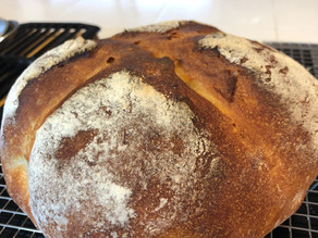A Basic Sourdough Loaf Using a Yeast Starter