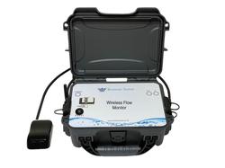 Flow meter, flow monitoring, remote sense, flow, velocity, av sensor, Doppler Lite