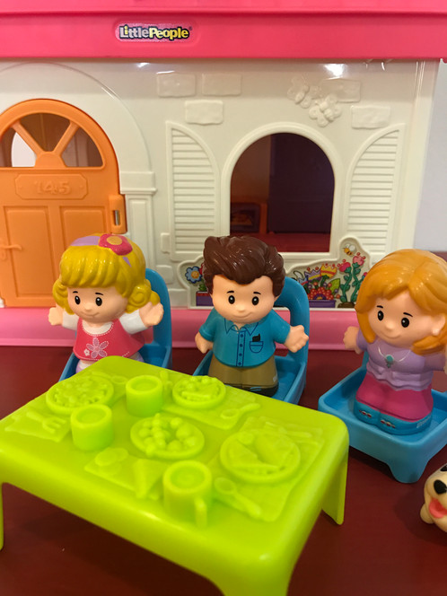 Fisher Price Little People Surprise Sounds Home Toy Shelf