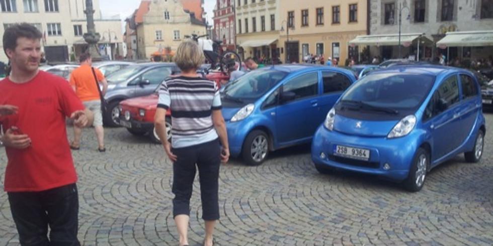 15. mezinárodní sraz elektromobilů  Sedlec - Prčice