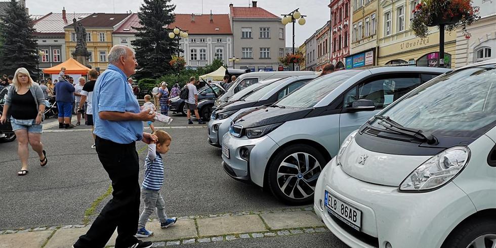 4. sraz elektromobilů na Valašsku