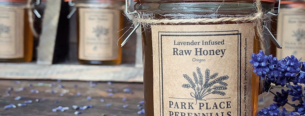 Lavender Infused Raw Honey