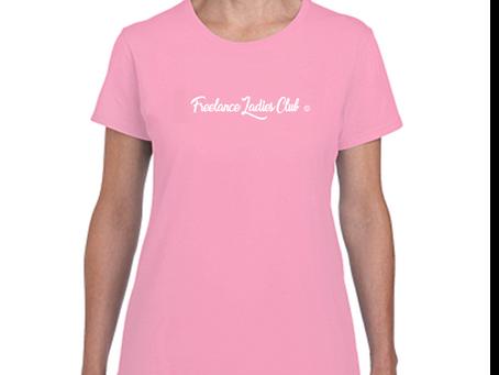 Freelance Ladies Club© T-shirts for Sale