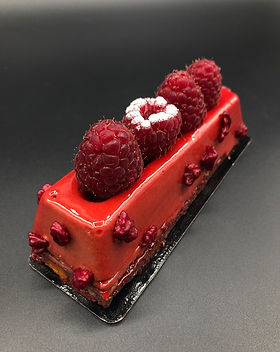 chocolate framboise patisserie cake dessert