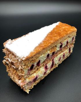 mille feuille pistache patisserie cake-dessert