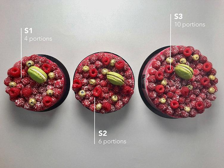 Cake Size Types