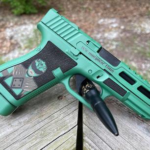 Power Ranger Custom Glock (Left side)