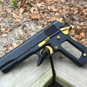 Black and Gold 1911