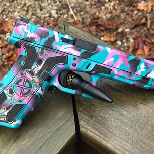 Custom Grip Engraving/Stipling