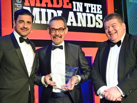 Contechs wins Made in the Midlands Manufacturing Apprenticeship Award