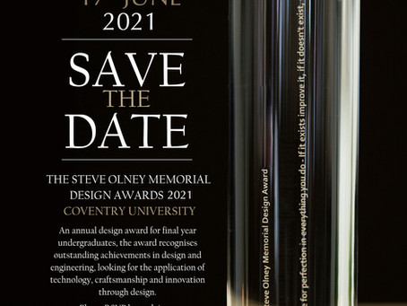 The Steve Olney Design Awards 2021