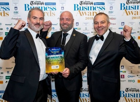 Contechs named Company of the Year in Coventry Telegraph Awards