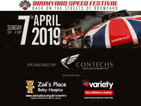 Contechs to Sponsor Bromyard Festival of Speed