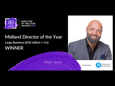 CONTECHS' PETER JARVIS WINS IoD DIRECTOR OF THE YEAR