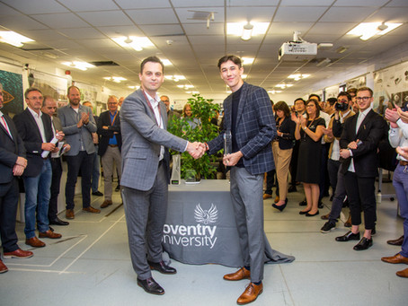 Coventry University's automotive design class of 2019 exhibit skills at annual Steve Olney Awards