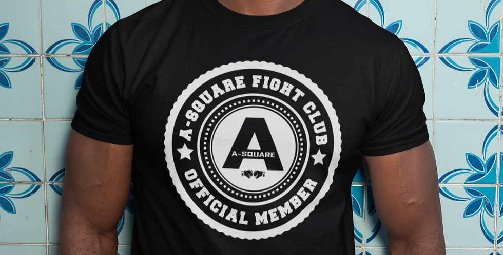 A-Square Fight Club - Official Member T-shirt