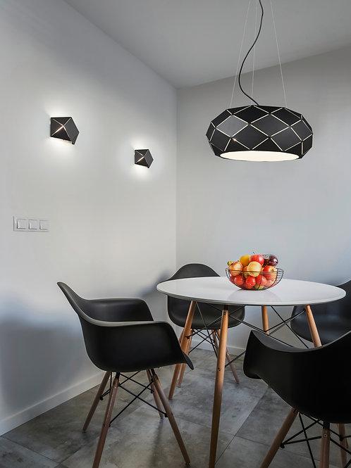 Design hengelampe svart - Zandor